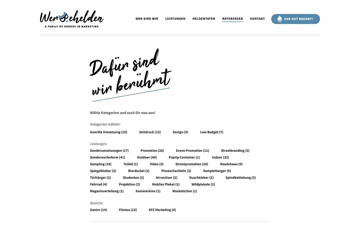 Werbehelden | werbehelden.com | 2019 (Screen Only 02) © echonet communication